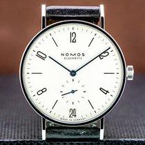 NOMOS Tangente 38 Datum Steel 37.5mm Arabic numerals United States of America, Massachusetts, Boston