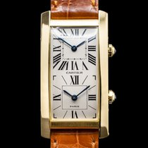 Cartier Yellow gold Manual winding Roman numerals 24mm Tank (submodel)