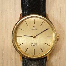 Omega De Ville Good Yellow gold 34mm Quartz