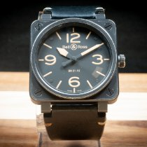 Bell & Ross BR 01-92 Steel 46mm Black Arabic numerals United States of America, Arizona, Mesa