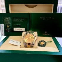 Rolex Datejust Gold/Steel 41mm Champagne No numerals United States of America, California, Los Angeles