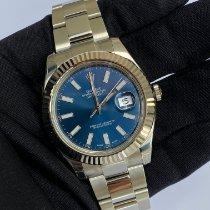 Rolex Datejust II Steel 41mm Blue No numerals United Kingdom, blackburn