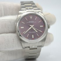 Rolex Oyster Perpetual 39 Steel 39mm Red United States of America, New York, New York