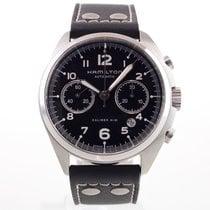 Hamilton Khaki Pilot Pioneer pre-owned 43mm Leather