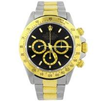 Rolex Daytona Gold/Steel 40mm Black No numerals United States of America, California, Fullerton
