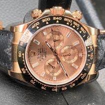 Rolex 116515ln Pозовое золото 2010 Daytona 40mm подержанные