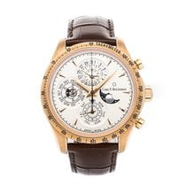 Carl F. Bucherer Manero Rose gold 42.5mm Silver No numerals