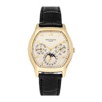Patek Philippe Perpetual Calendar Yellow gold 42mm Silver United States of America, Pennsylvania, Bala Cynwyd