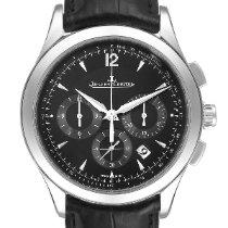Jaeger-LeCoultre Master Chronograph Stahl 40mm Schwarz