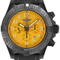 Breitling Avenger Hurricane Plastic 50mm Yellow Arabic numerals United States of America, California, Moorpark