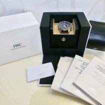 IWC Pilot Chronograph Steel 46mm Brown Arabic numerals