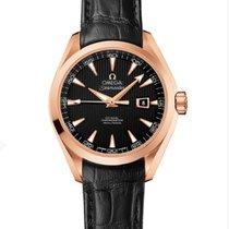 Omega Seamaster Aqua Terra Rose gold 34mm Black United States of America, New York, New York