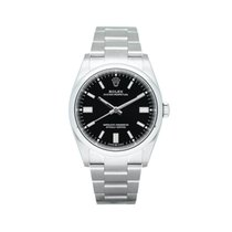 Rolex Oyster Perpetual 36 Steel 36mm Black No numerals South Africa, Centurion