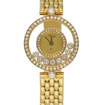 Chopard Happy Diamonds Yellow gold 23mm Champagne United States of America, New York, New York