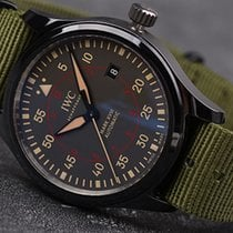 IWC Pilot Mark Ceramic 41mm Grey Arabic numerals