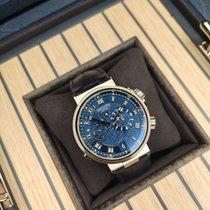Breguet Marine White gold 40mm Blue Roman numerals