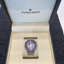 Junghans Meister Chronoscope Steel 40,7mm Blue