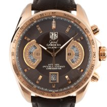 TAG Heuer Red gold Automatic Brown 43mm pre-owned