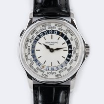 Patek Philippe World Time 5110G-001 Ottimo Oro bianco 37mm Automatico Italia, FORTE DEI MARMI ( LU )