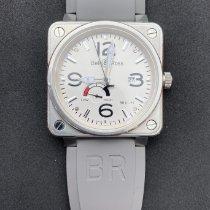 Bell & Ross BR 01-97 Réserve de Marche Steel 46mm White Arabic numerals