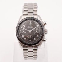 Omega Speedmaster Ladies Chronograph Stahl 38mm Grau
