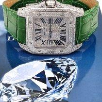 Cartier nuovo Automatico Pietre preziose e diamanti 38mm Acciaio Vetro zaffiro