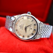 Omega Constellation Steel 35mm Yellow No numerals Singapore