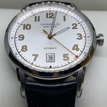 Tiffany CT60 Steel 40mm White Arabic numerals