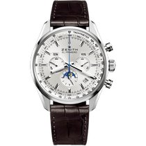 Zenith El Primero 410 new 2021 Automatic Chronograph Watch with original box and original papers 03.2091.410/01.C494