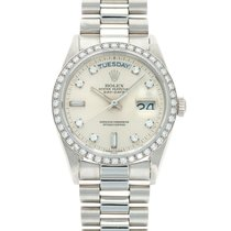 Rolex Day-Date 18046 Very good Platinum 36mm Automatic United States of America, California, Beverly Hills