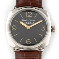 Panerai Platinum Manual winding Black Arabic numerals 48mm pre-owned Radiomir Rattrapante