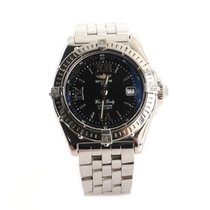 Breitling Wings Lady Acero 31mm Negro