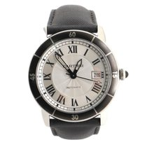 Cartier Ronde Croisière de Cartier Steel 41mm Silver United States of America, New York, New York