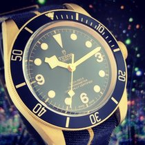 Tudor Black Bay Bronze Bronze 43mm Azul Árabes
