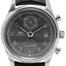 IWC Portuguese Chronograph Stål 42mm