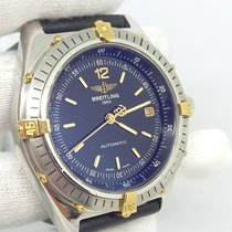 Breitling Antares Золото/Cталь 40mm Черный Без цифр