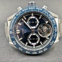 TAG Heuer Carrera Heuer-02T gebraucht 45mm Blau Titan