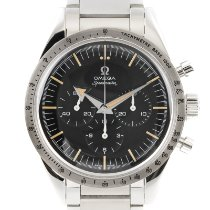 Omega Speedmaster Steel 38.5mm Black