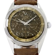 Universal Genève pre-owned Automatic 33mm Brown Plexiglass Not water resistant