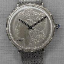 Morgan Silver Dollar Coin Watch Very good Steel 38mm Manual winding United States of America, Michigan, Warren