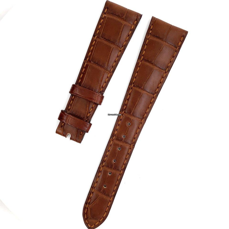Patek Philippe Calatrava Patek Phillipe crocodile strap 20x14mm new