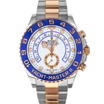 Rolex Yacht-Master II Gold/Steel 44mm White No numerals United States of America, Maryland, Baltimore, MD