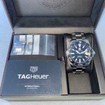 TAG Heuer Aquaracer 300M Stahl 41mm Schwarz Keine Ziffern Schweiz, 8500
