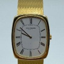 Patek Philippe Golden Ellipse Yellow gold White No numerals