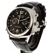Panerai Radiomir Rattrapante Steel 45mm Black Arabic numerals United States of America, Massachusetts, Andover