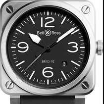 Bell & Ross BR 03-92 Steel Steel 42mm Black Arabic numerals United States of America, Texas, Houston