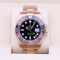 Rolex 126715CHNR Rose gold 2019 GMT-Master II 40mm pre-owned