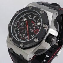 Audemars Piguet Platinum Automatic Black Arabic numerals 44mm new Royal Oak Offshore Chronograph