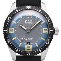 Oris Divers Sixty Five Stahl 40mm Blau Deutschland, Schwabach