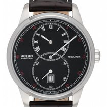Union Glashütte 1893 Regulator Steel 41mm Black